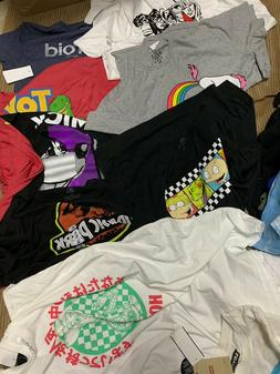 NWT Mens Clothing Lot Graphic Branded T Shirt Lot 3-5 Approx