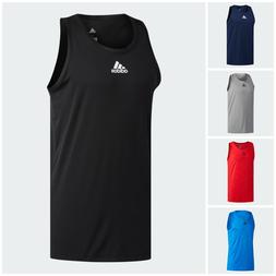 NWT Men's Adidas Heathered Tank Top Size M - XL MSRP $25