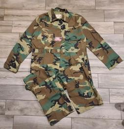 NWT Rothco Rugged Outdoor Apparel  Camo Coveralls Suit Men's