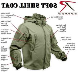 Olive Drab Green Special-Ops Tactical Water Proof Soft Shell