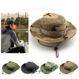 Outdoor Boonie Sun Hat Summer UPF 50+ UV Protection For Men