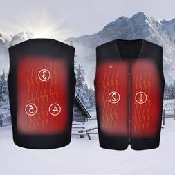 Outdoor USB Infrared Electric Heating Vest <font><b>Men</b><