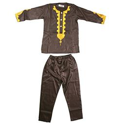 Parent-Child Clothes Sets Traditional Embroidery Dashiki Afr