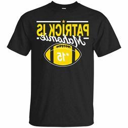 Patrick Is Mahomie Kansas City Football T-Shirts Cotton M-3X