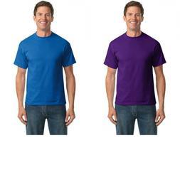 Port & Company Tall 50/50 Cotton/Poly Short-Sleeve T-Shirt.