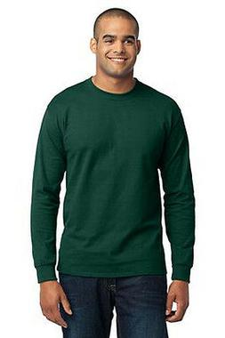 Port & Company® Tall Long Sleeve 50/50 Cotton/Poly T-Shirt.