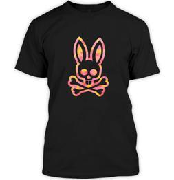 Psycho Bunny Mozaic Polo Shirts Clothing Apparel Black T-Shi