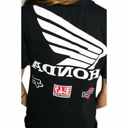 Fox Racing Men's Yoshimura Honda Wing Basic Short Sleeve T S