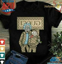 Rick And Morty Shirt Graphic Tee GU T-shirts Men's Clothing