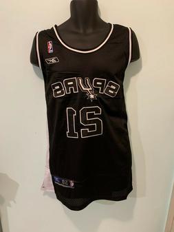 San Antonio Spurs 21 Tim Duncan NBA Hardwood Classic Jersey