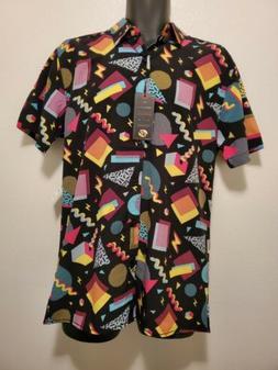 Drill Clothing Company Short Sleeve 90s Retro Print Bottom D