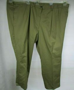 Dockers Men's Signature Khaki Big & Tall Pleated Pant,Dark K