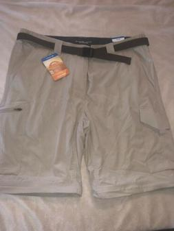 Columbia Men's Silver Ridge Convertible Pants -36 32 Fossil