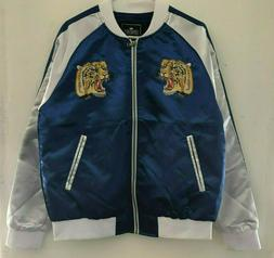 SOUVENIR JACKET CONTEMPORARY CLOTHING TIGER SATIN CLUB JACKE
