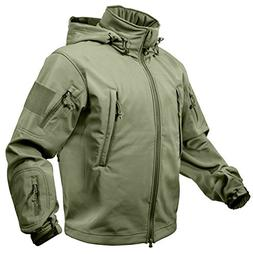 Rothco Special Ops Soft Shell Jacket, Olive Drab, 4X-Large