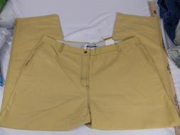 Columbia Sportswear Men's 44 X 30 Pants Yellow Outdoor Stone