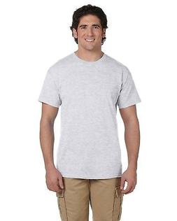 Hanes T-Shirt Tee Men's Short Sleeve 5.5 oz 50/50 5170 More