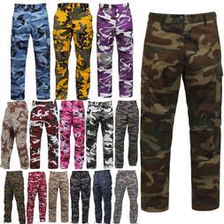 tactical bdu pants camo cargo uniform 6