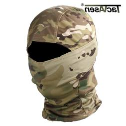TACVASEN Tactical Camouflage Balaclava Full Face Mask Wargam