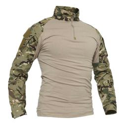 Tactical Men's Quick Dry Sun Protection Long Sleeve T-Shirt