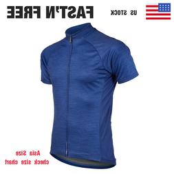 Team Cycling Sports Jersey Tops Clothing Men's Bike Jerseys