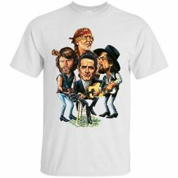 The Highwaymen T-shirts Tee size M-3XL US 100% cotton Men's