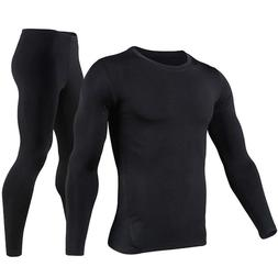 Thermal Underwear Men Ultra-Soft Long Johns Set Base Layer S