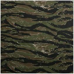 "Tiger Stripe Camo Bandana 6 PACK Camouflage 22"" Cool Cotton"