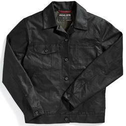 Filson Tin Cloth Short Lined Cruiser Limited Jacket Black Me