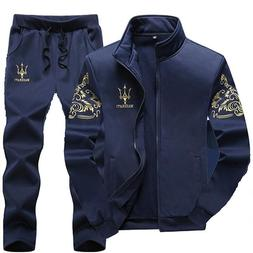 Tracksuit <font><b>Men</b></font> Set Casual Suits Sportswea