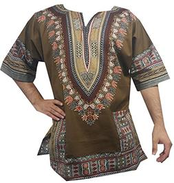 Decoraapparel Traditional Men Women Dashiki Shirt African Bl