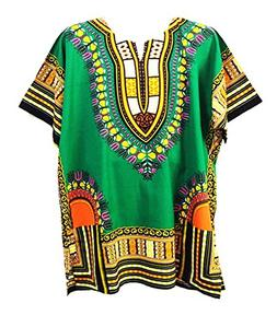 Traditional Thailand Style Dashiki - Available in Several Co