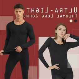 Ultra-thin Long Johns Thermal Underwear For Women/Men Thermo
