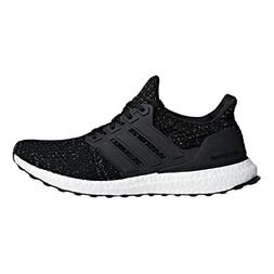 adidas Men's Ultraboost, Black/White, 14 M US