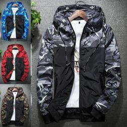 us mens camouflage coat hoodies jacket clothing
