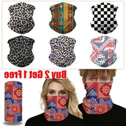 UV Protection Face Shield Tube Mask Scarf  Gaiter Mouth Cove