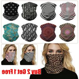UV Protection Face Shield Tube Mask Scarf Neck Gaiter Mouth