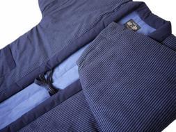 Vertical Stripe Hanten Japanese clothes size Men's