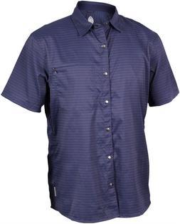 vibe men s short sleeve shirt navy