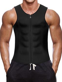 Men Waist Trainer Vest for Weightloss Hot Neoprene Corset Bo