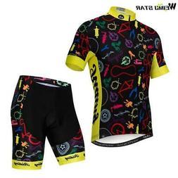 Weimostar MTB Bike Clothing Men Summer Short Sleeve Cycling