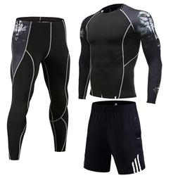 winter jogging suit full man tracksuit compression