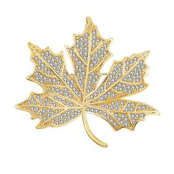 women men clothing decoration maple leaf brooch