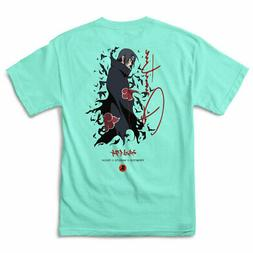 Primitive x Naruto Itachi Men's Crows Short Sleeve T Shirt C