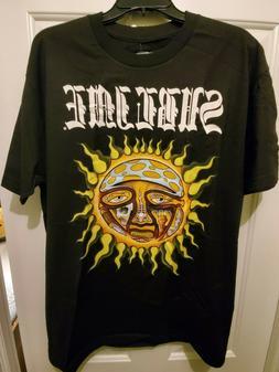 Sullen x Sublime Men's Opie Sun T Shirt Black Clothing Appar